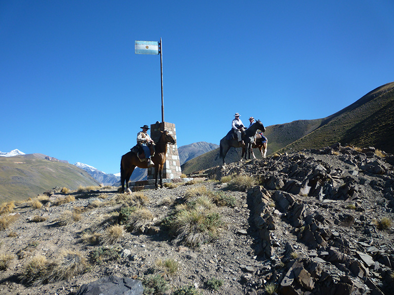 Cross of the Andes - Estancia El Puesto
